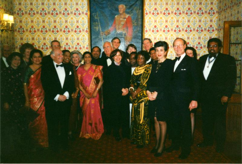 Club History - with Rotarians & Guests.
