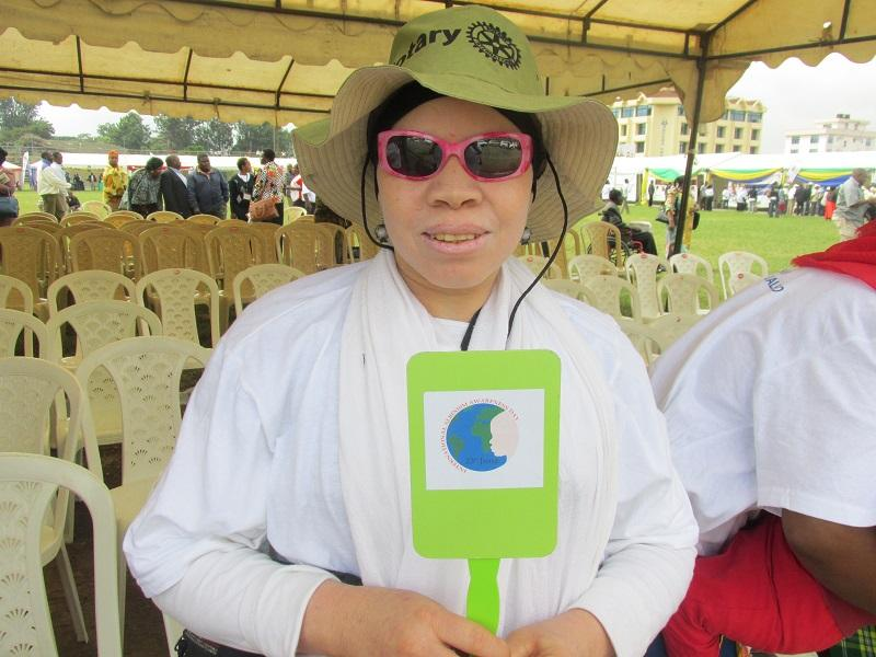Rotary helps Albinos in Tanzania -