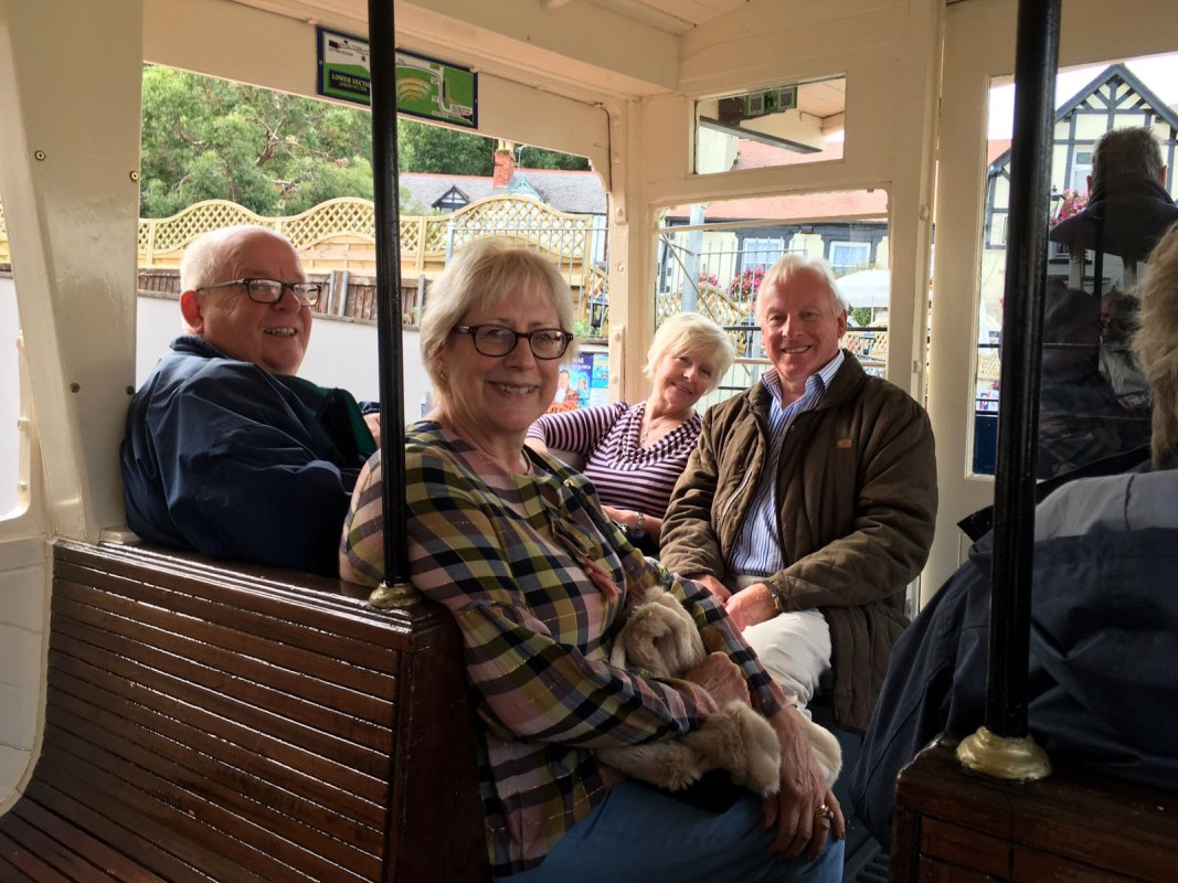 District Conference - Llandudno - Taking the tram to the top