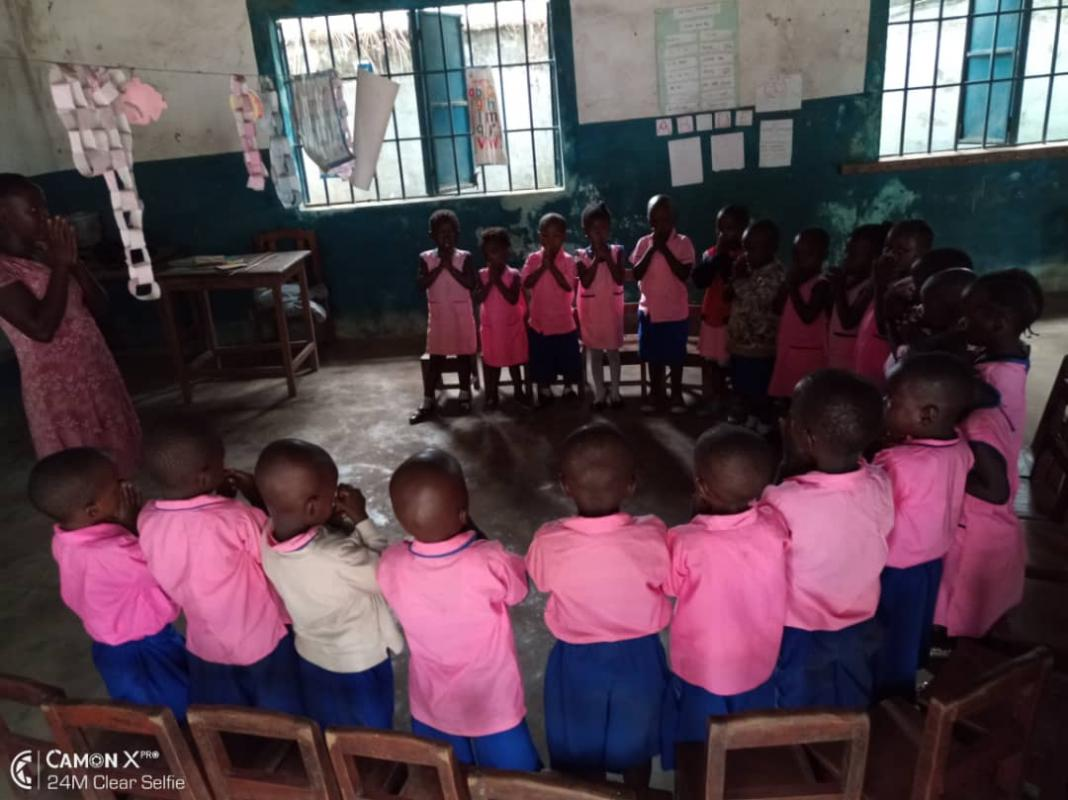 Rotary Round-up reports: Rotary equips preschool in Sierra Leone -