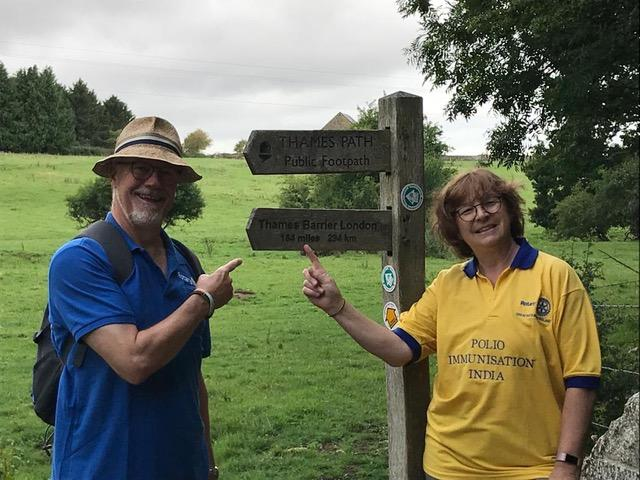 The Thames Path Challenge: 184 miles walked in 16 days & £2,532 raised!  -