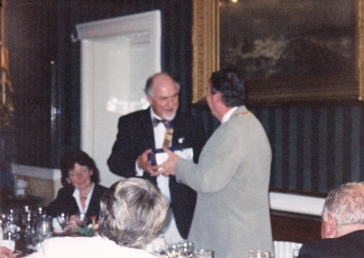 Pictures from a visit by Holyhead Rotary Club to Dun Laoghaire Rotary Club in 1997 - IMG 0005 (1)