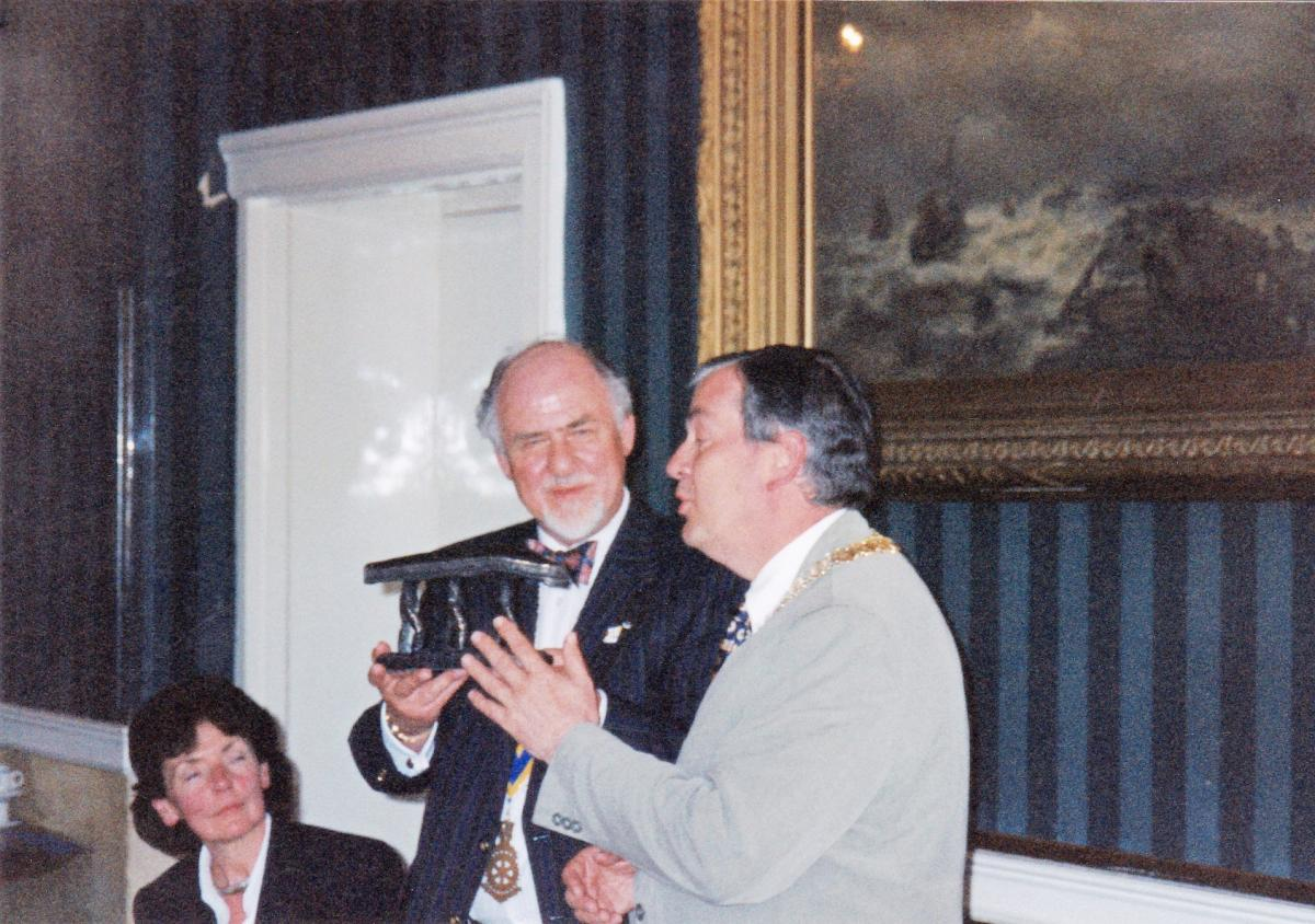 Pictures from a visit by Holyhead Rotary Club to Dun Laoghaire Rotary Club in 1997 - IMG 0006 (1)