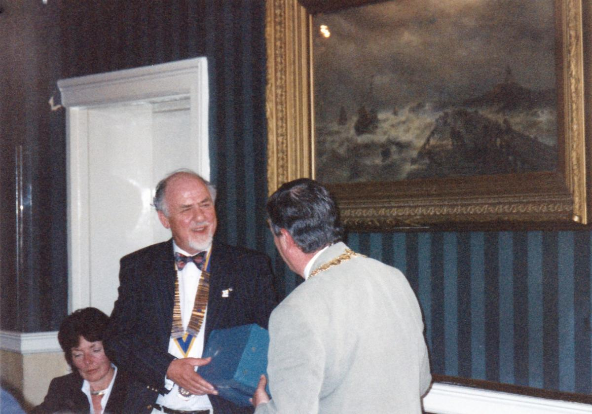 Pictures from a visit by Holyhead Rotary Club to Dun Laoghaire Rotary Club in 1997 - IMG 0008(2)