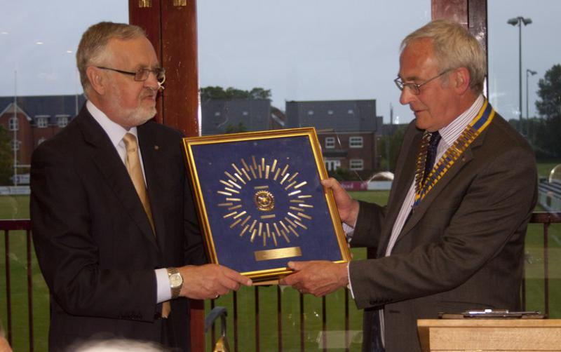 2013 President's Induction -