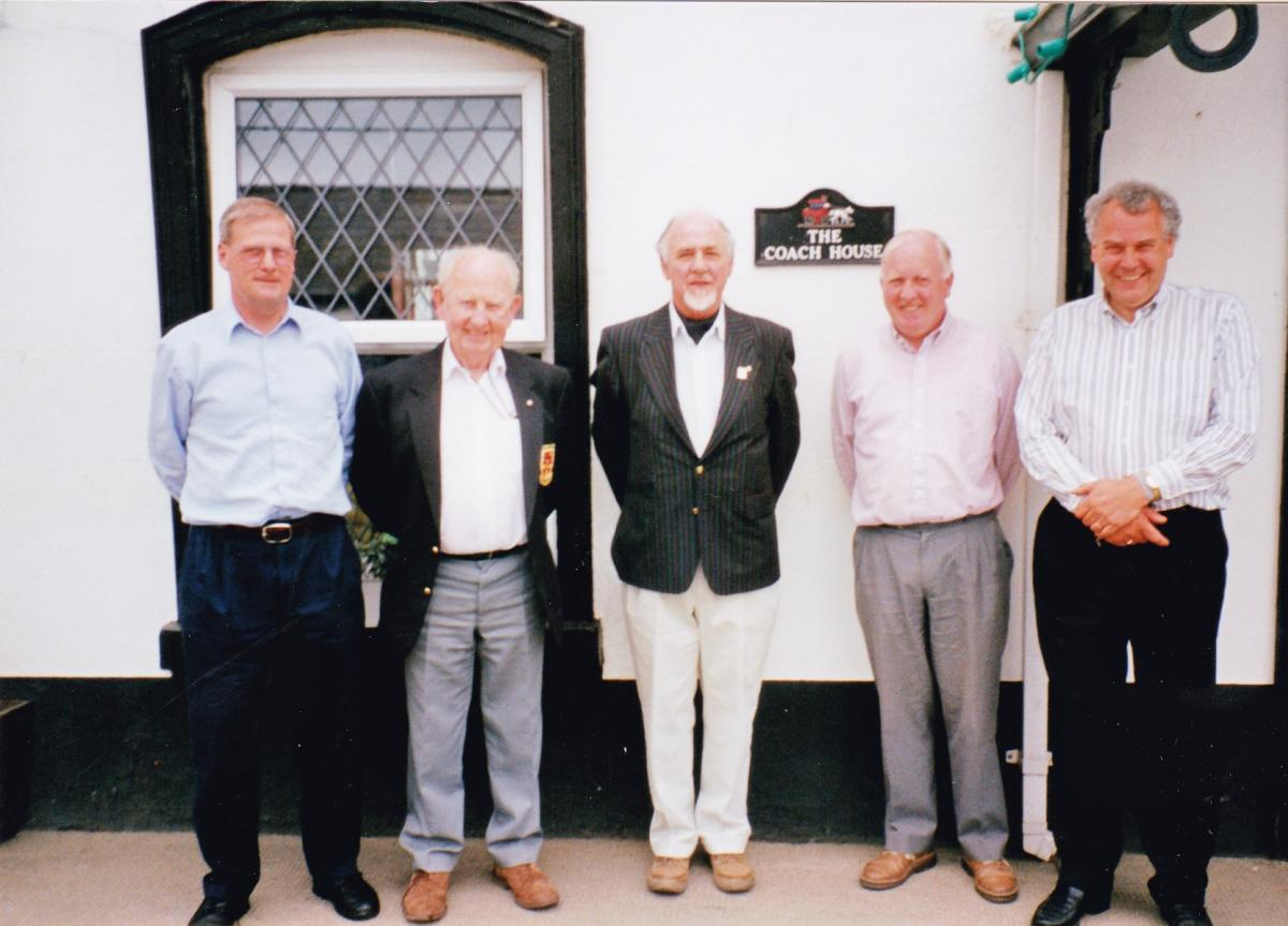 Pictures from a visit by Holyhead Rotary Club to Dun Laoghaire Rotary Club in 1997 - IMG 0014 (1)