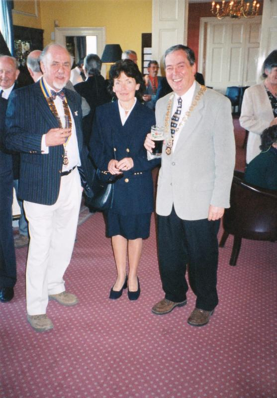 Pictures from a visit by Holyhead Rotary Club to Dun Laoghaire Rotary Club in 1997 - IMG 0015(1)