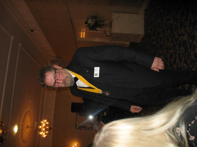 Lymm Rotary 80th Charter Dinner - Rick Condo
