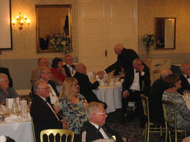 Lymm Rotary 80th Charter Dinner - Guests enjoying the GMP Big Band
