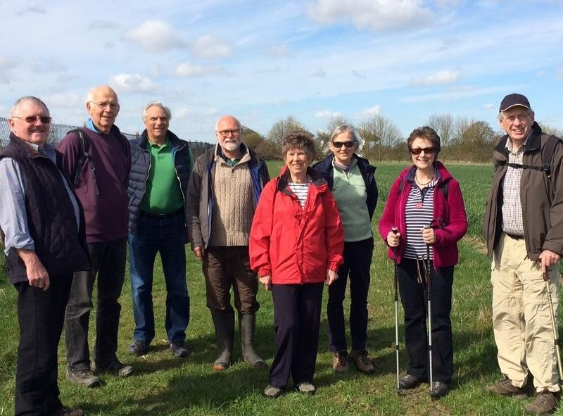 Fellowship events - A group from our club enjoy the sunshine