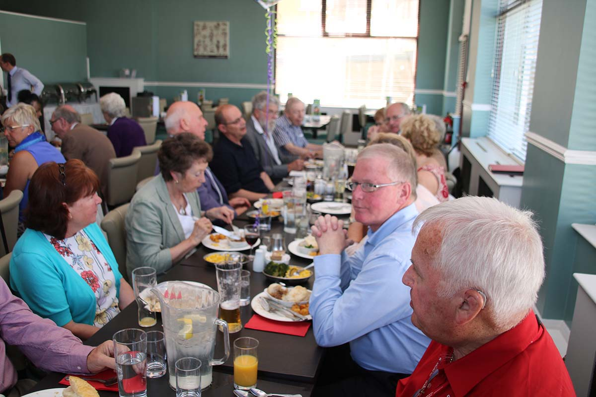 Lunch with the Devon Air Ambulance -