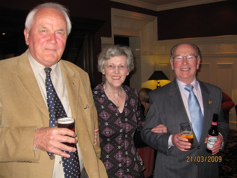 Social Weekend 2009 - Hugh Smith, Janice Dey and George Miller