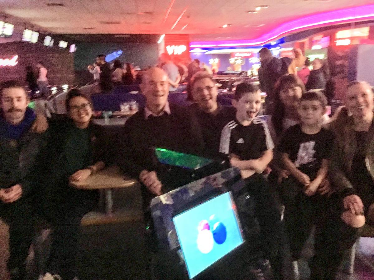 Glasgow Rotary E-Group (GREG) - Rotary vs Rotaract Ten-Pin Bowling Challenge