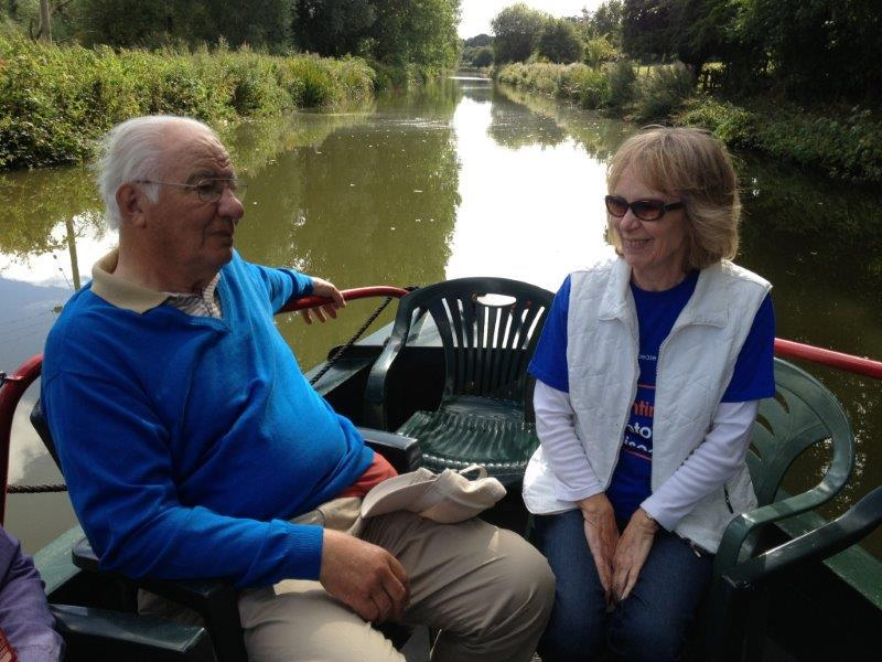 2013 Barge Trips for Local Community Groups - MND Association
