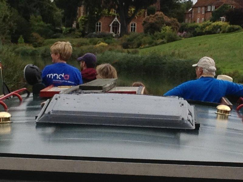 2013 Barge Trips for Local Community Groups - Taking in the views
