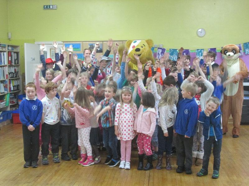 Children in Need 2014 - Thornhill Primary School
