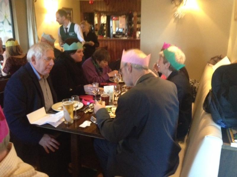 12.45 for 1pm Rotarians Golfing Xmas Lunch  - Enjoying the meal 6