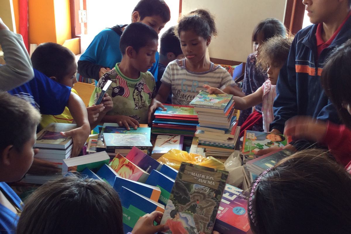 Fleet Rotary and Projects in Peru -