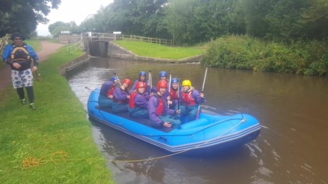Rotary Young Leadership Award (RYLA)  - On the Trent & Mersey Canal