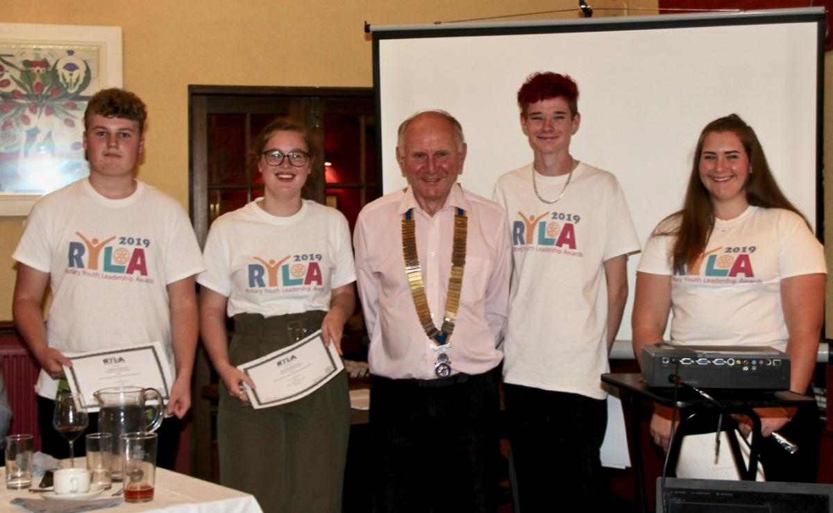 Just another night in Kirkcudbright Rotary  -