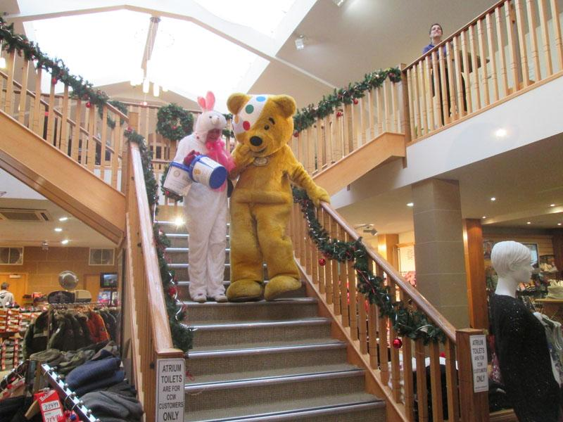 Children in Need 2014 - I'm sure I can get down here