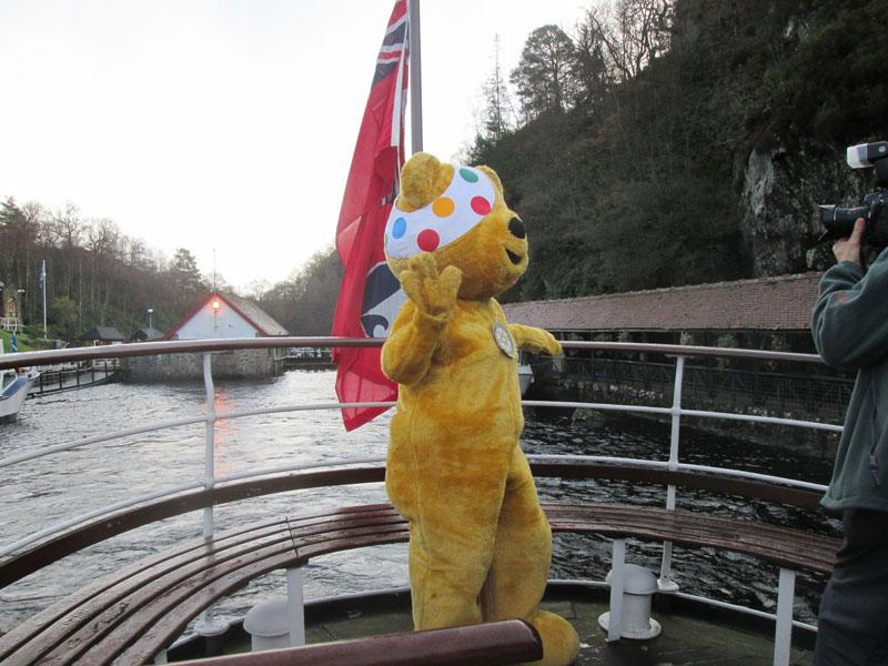 Children in Need 2014 - Farewell to dry land