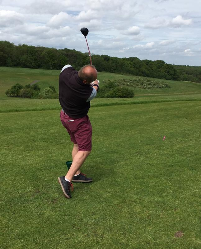Charity Golf Day May 2017 raises over £1600 -