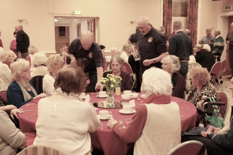 Pensioners Party at Winnington Park Recreation Club - IMG 0366A