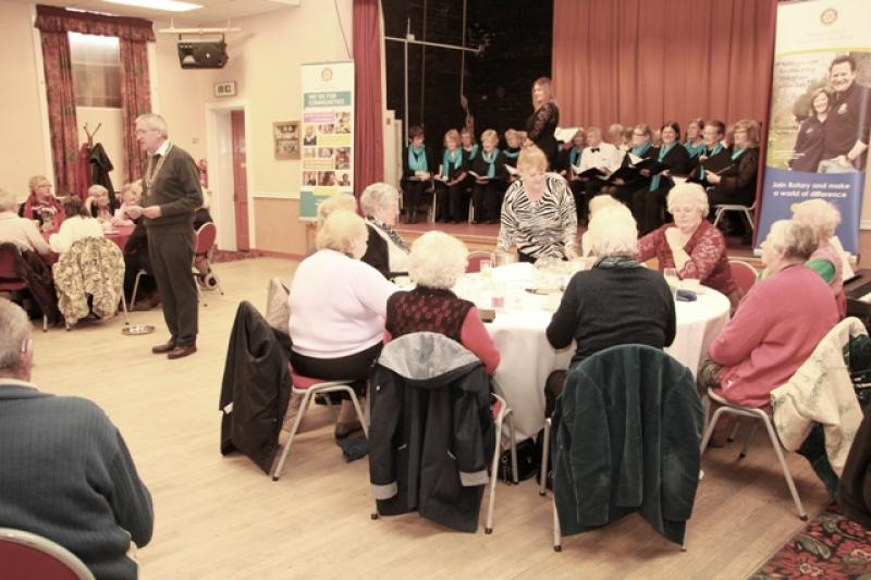 Pensioners Party at Winnington Park Recreation Club - IMG 0390A