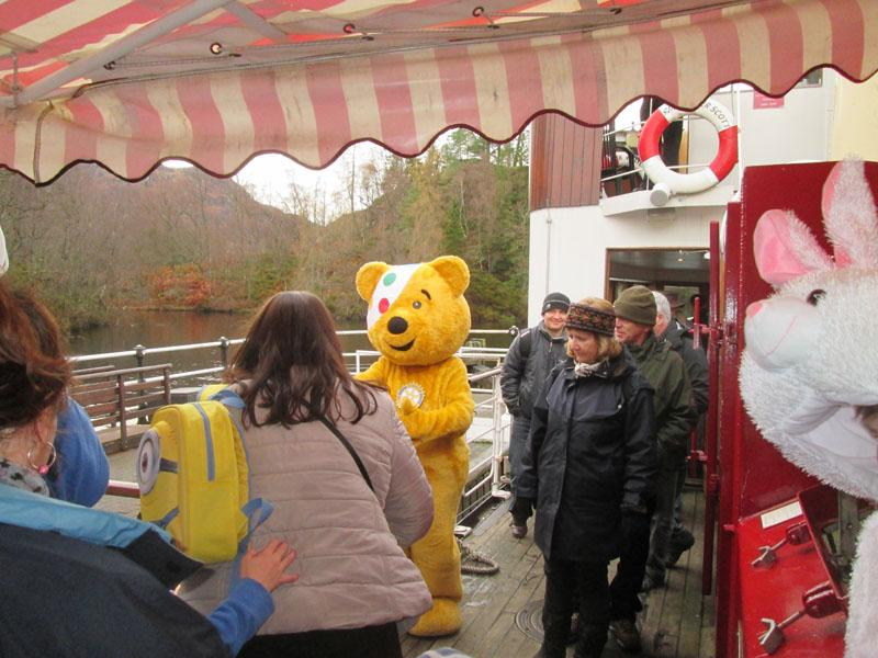 Children in Need 2014 - Time to disembark