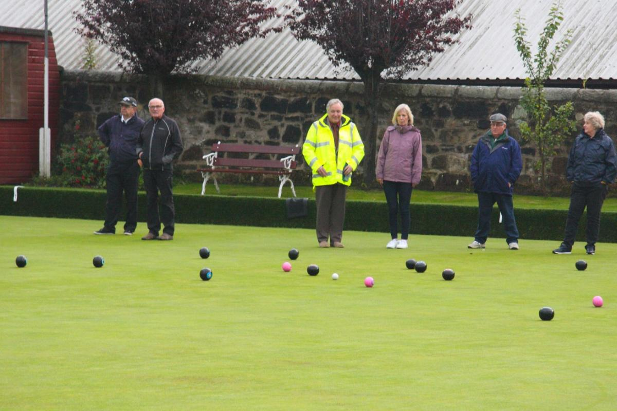 Outdoor Bowling -