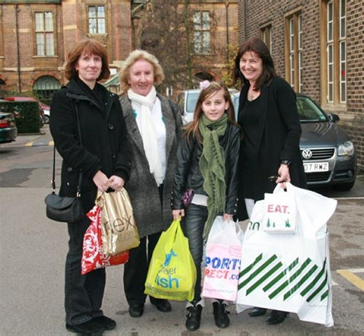 Dec 2011 Christmas Car Parking in Cambridge City Centre - Happy shoppers pleased with the parking facilities.