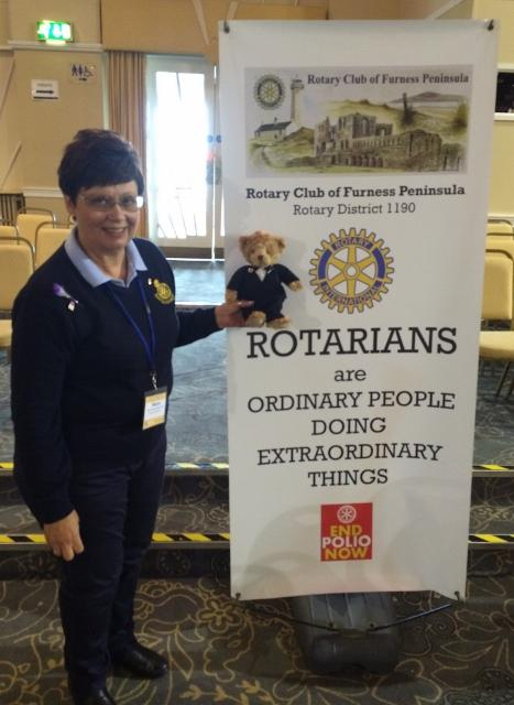 Reg the Roving Rotarian - Big day out at Conference