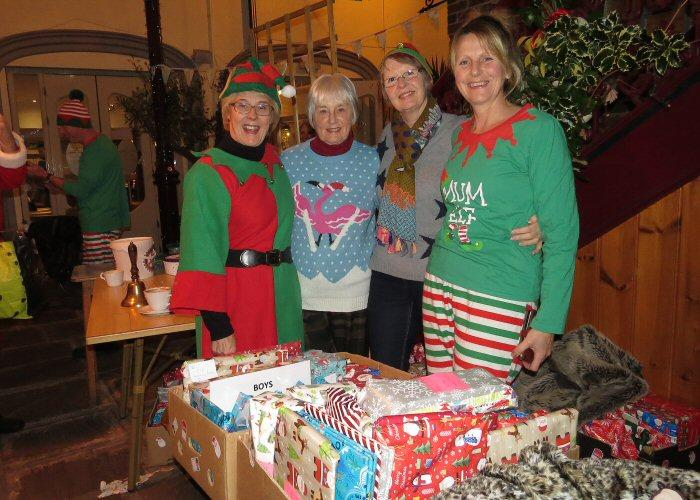 Leek Light Switch on - Santa's helpers