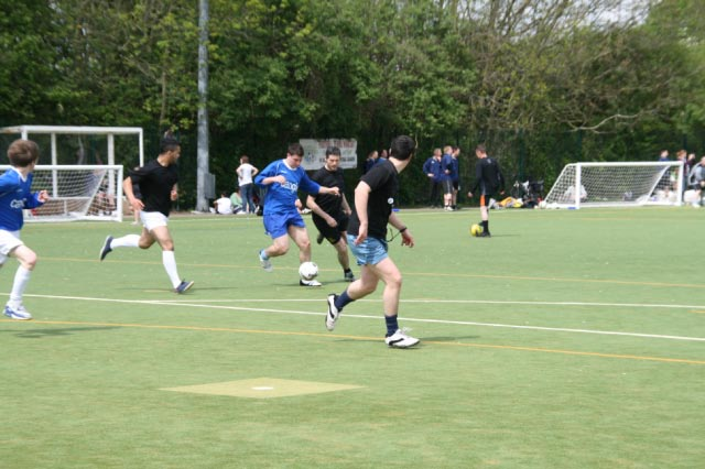 May 2012 Tommy McLafferty Football Tournament for Homeless communities - A South Cambridge attack
