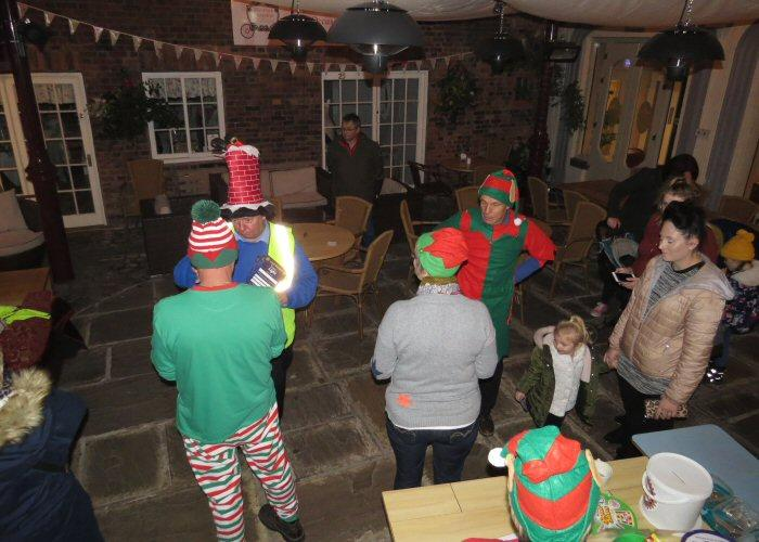 Leek Light Switch on - Elves hard at work