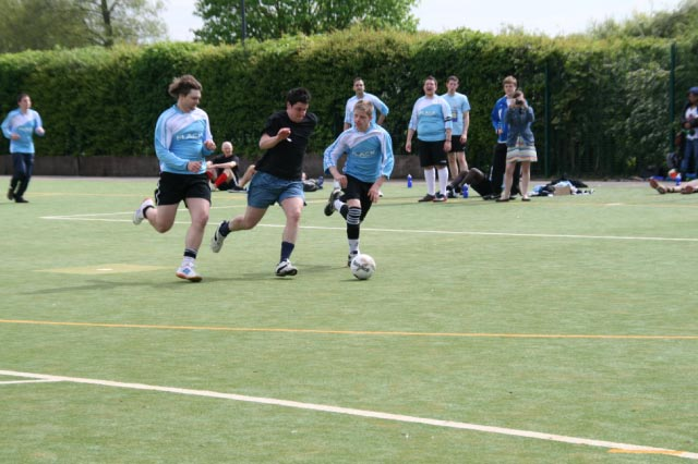 May 2012 Tommy McLafferty Football Tournament for Homeless communities - Another South Cambridge attack against the runners up Flack