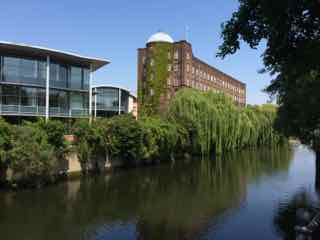 A Walking Tour of Historic Norwich - By the river
