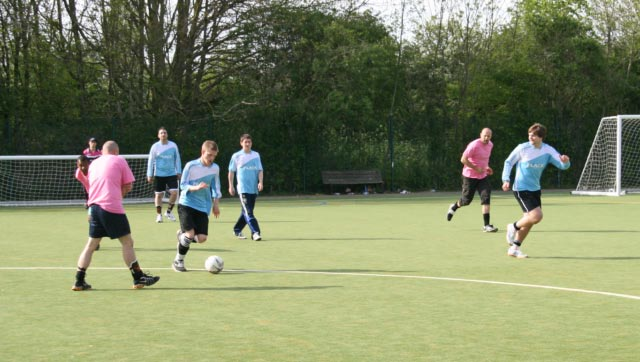 May 2012 Tommy McLafferty Football Tournament for Homeless communities - Another attack by Flack