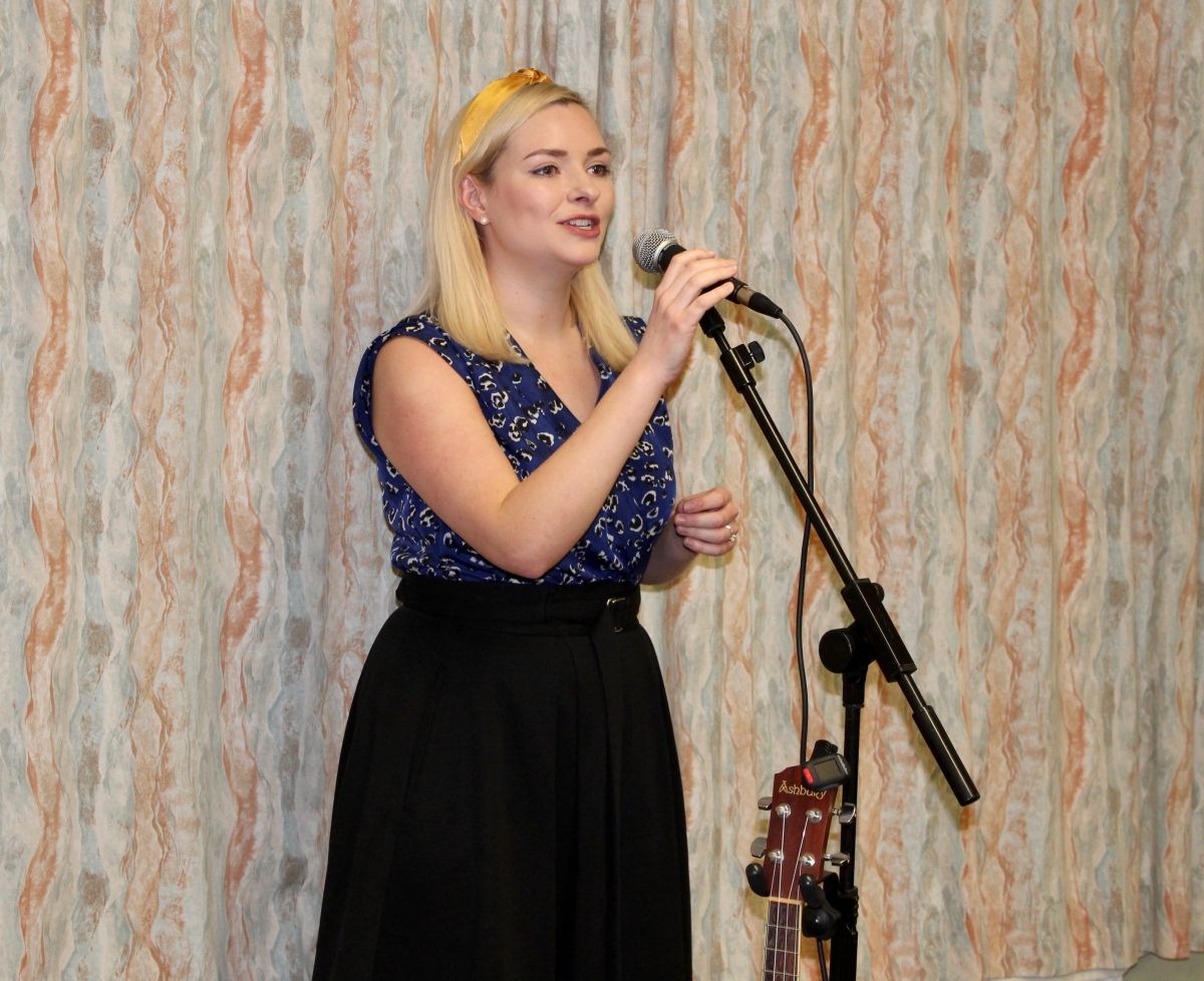 Annual Burns Supper 15th January 2020 - Entertainment by Claire Hastings.