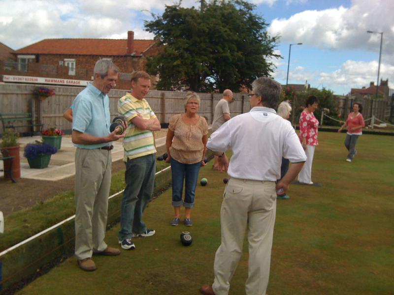 Bowling in the Sunshine -