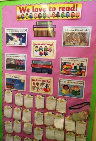 Child Literacy Projects - We Love to read