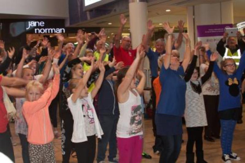 End Polio Now - Flash Mob -