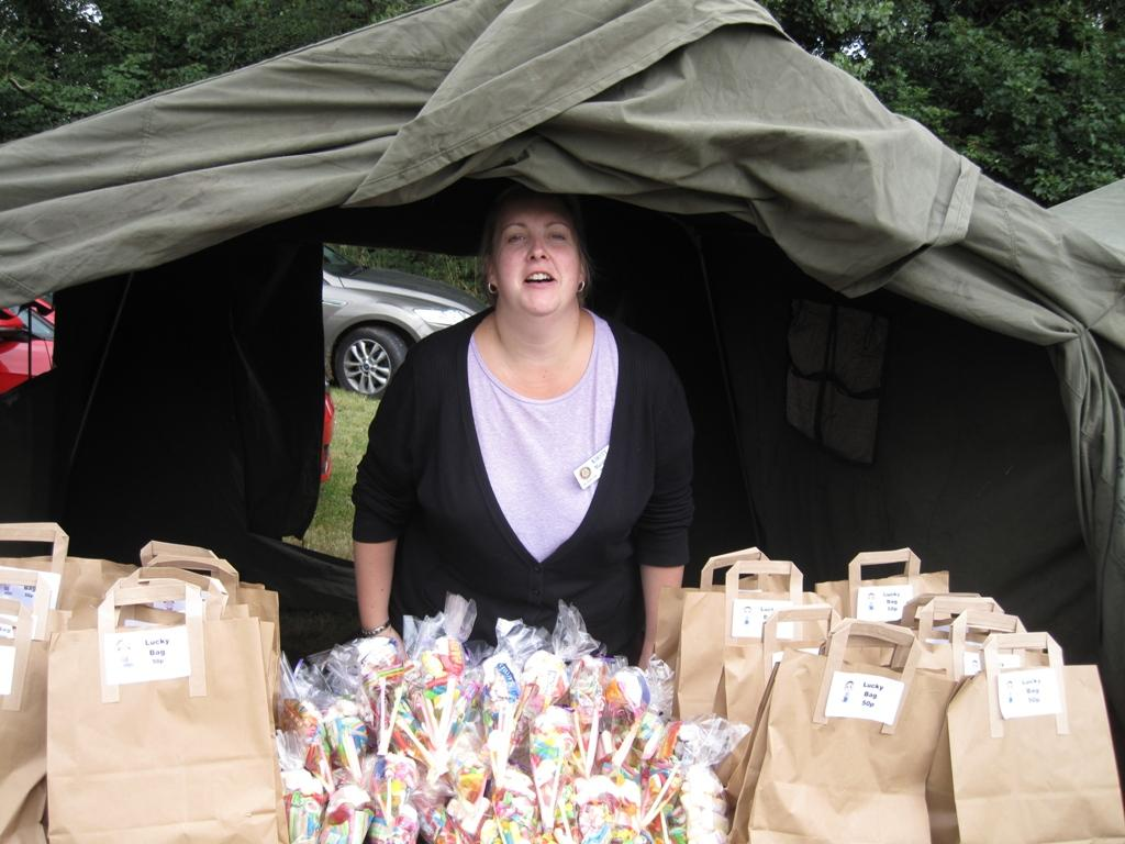 Bramcote Open Day 2017 - Kirsty and her Goody Bags!