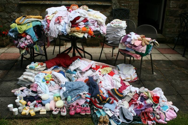 Sandra's Baby Clothes Project -