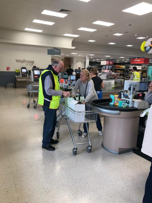 Easter Bag Packing Day @ Cirencester Waitrose -