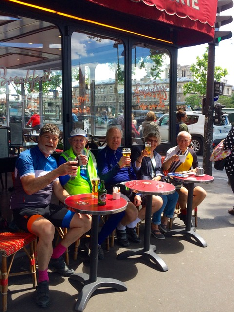 Cycling the Avenue Verte -