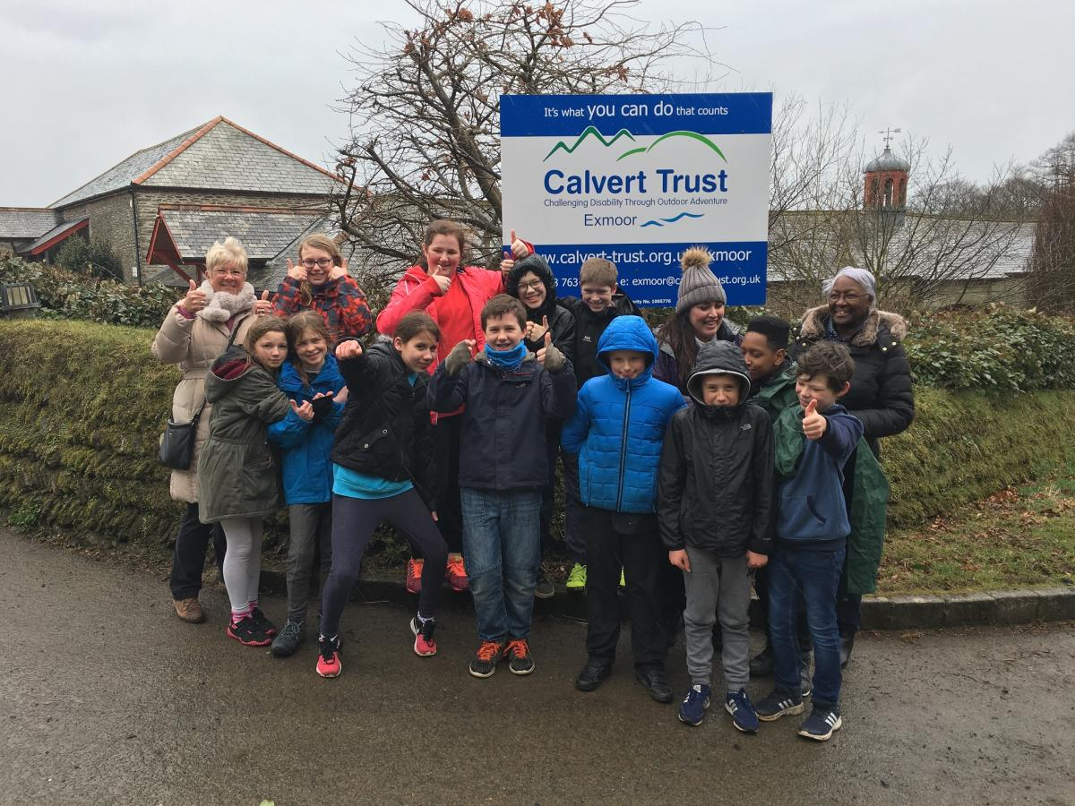 A Busy Youth Committee - Visiting their chosen Charity The Calvert Trust