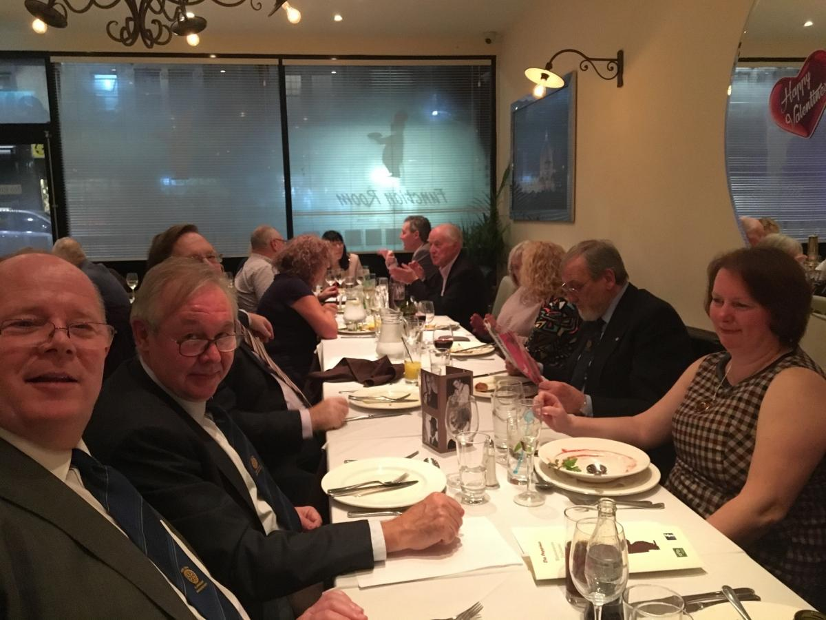 Valentine's  Charity Dinner at Da Peppino Restaurant - Welling -