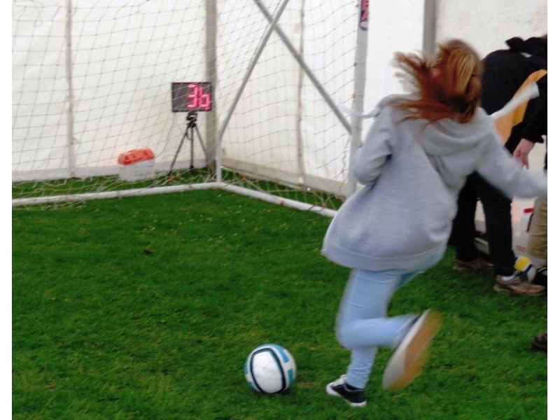 West Berks Young Carers R-FEST - Penalty Shoot out organised by Thatcham Tornadoes